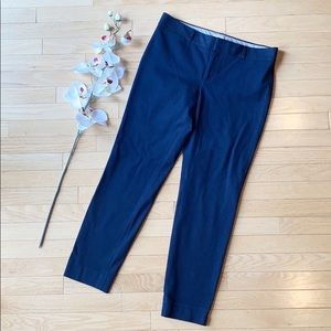 BANANA REPUBLIC sloan pants size 8 navy  blue